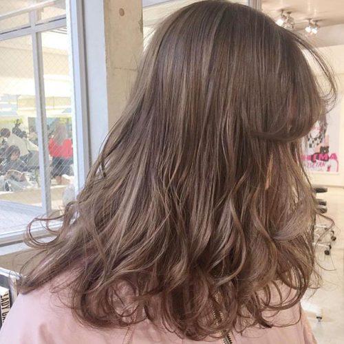 イエベ春タイプの髪色